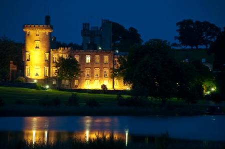 photo famous irish castle hotel,west coast ireland Stock Photo