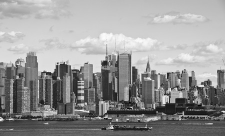 photo new york cityscape over the hudson river photo