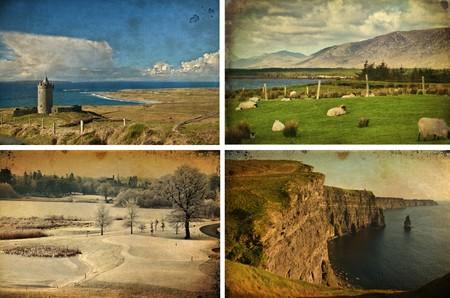photo landscape and seascape tourim west coast ireland photo