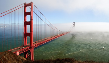 photo beautiful golden gate bridge in san francsico