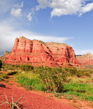 Photo Landscape of Cathedral rock at Sedona Arizona photo