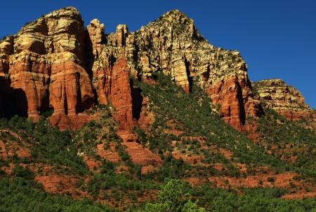 sandstone red scenic nature landscape, usa photo