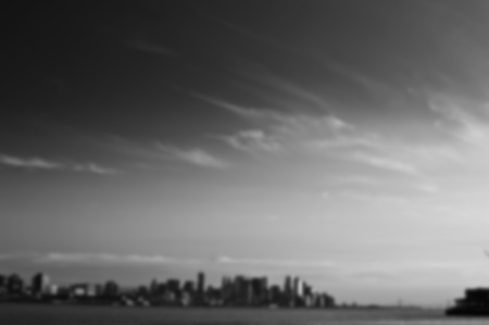 bw: A blurred background image B&W from NYC Stock Photo