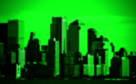 Blurred out of focus background from New York City
