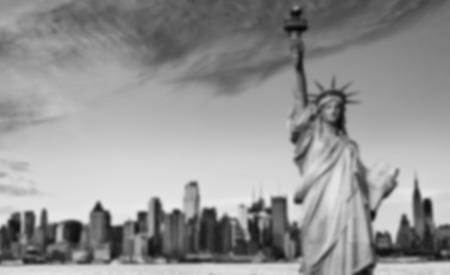 fondo blanco y negro: Una imagen de fondo borrosa B & W de NYC