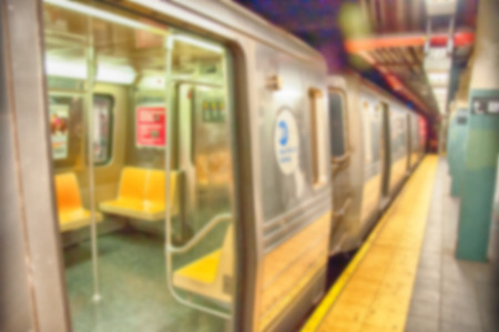 defocus: Colour blurred defocus background image from NYC Stock Photo