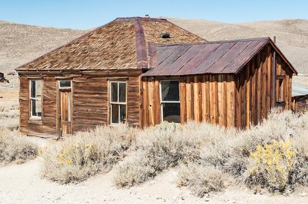 Bodie State Historic Park, Geisterstadt in der Bodie Hills, Mono County, Kalifornien, USA.