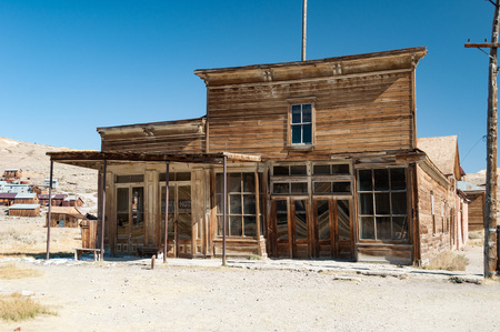 ghoul: Bodie State Historic Park,  ghost town in the Bodie Hills, Mono County, California, United States.