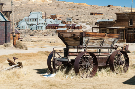 town house: Bodie State Historic Park,  ghost town in the Bodie Hills, Mono County, California, United States.