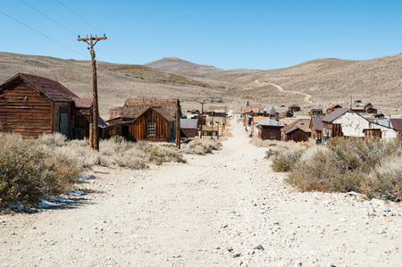 bodie: Bodie State Historic Park,  ghost town in the Bodie Hills, Mono County, California, United States.