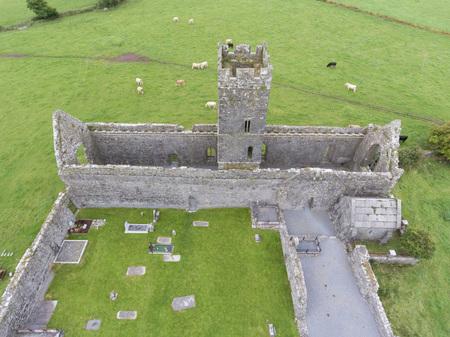 the abbey: clare abbey ruins, county clare, ireland Stock Photo