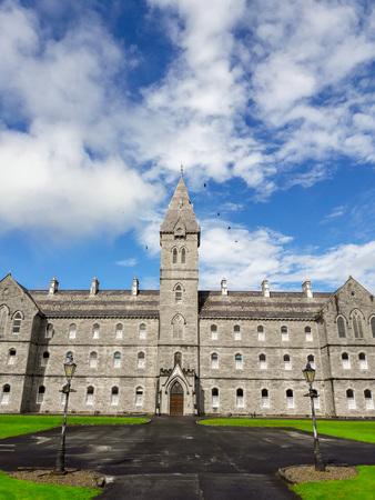 regent: Beautiful Old Irish Stone Architecture, County Clare, Ireland. Editorial
