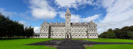 Beautiful Old Irish Stone Architecture, County Clare, Ireland. Editorial