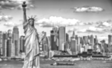 Black and white Blurred effect defocused background abstract background from NYC, New York City Stock fotó