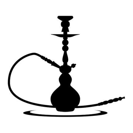 shisha hookah pipe clip art symbol Illusztráció