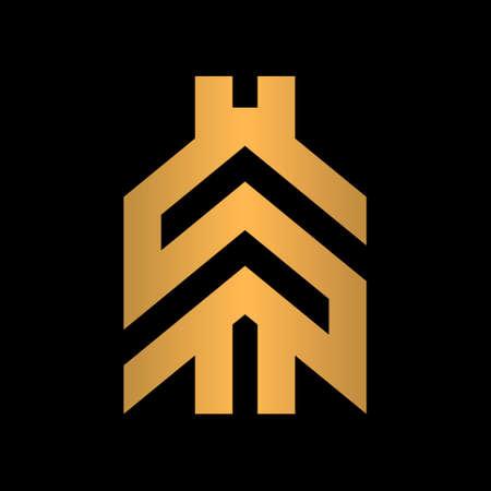 Modern dollar sign creative logo concept