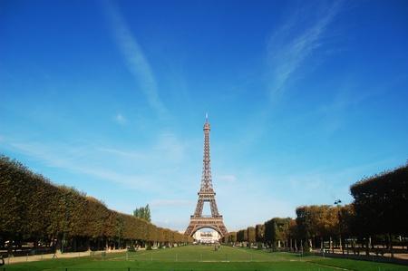 The Eiffel Tower in Paris, France Banque d'images