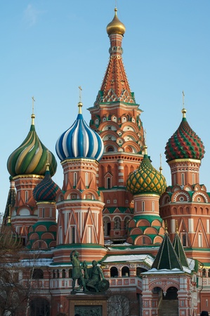 st basil s cathedral: View of The St Basil s Cathedral
