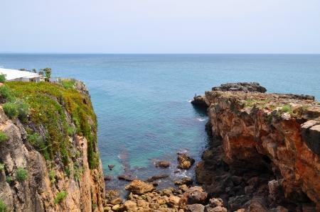 Cliffs in Portugal  photo