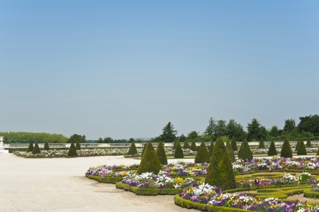 The Garden of The Palace Vercale  France  photo