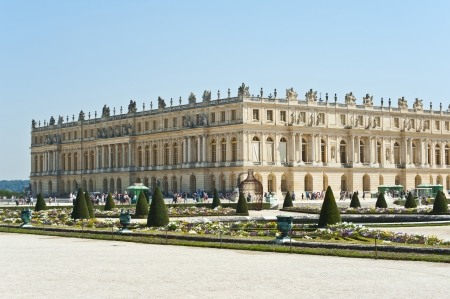king palace: The  Grand Palace of Versailles   The Garden   France