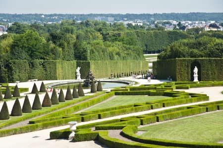 The Gardens of The Palace of Versailles  France