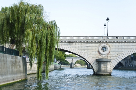 The Siene River in Paris . France. Stock Photo - 15550447