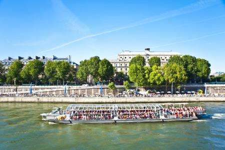 The Siene River in Paris   France  Stock Photo - 15618022