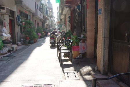 back alley: Back alley in Kaohsiung