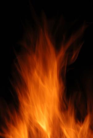 arson: Fire Stock Photo