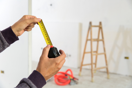Komplette Renovierung einer privaten Wohnung Standard-Bild - 63709052
