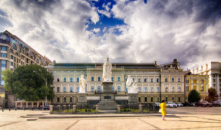 kiev: Beautiful architecture Kiev Ukraine