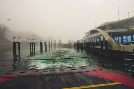 Ferry on Lake Constance to Constance in Germany Baden-Wurttemberg Europe Imagens