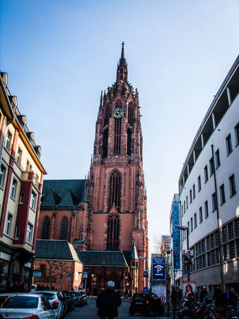 Frankfurt Old Town with Romans and Paulskirche on 2011.03.14