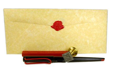 Letter Фото со стока