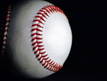 Side-lit baseball