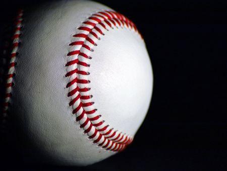 sidelit: Side-lit baseball