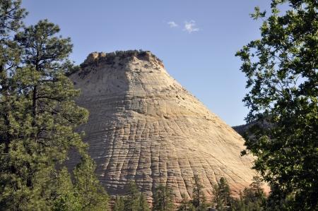 Checkerboard Mesa at Zion National Park.