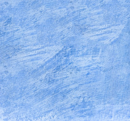 Old scratched blue wall texture, background surface.