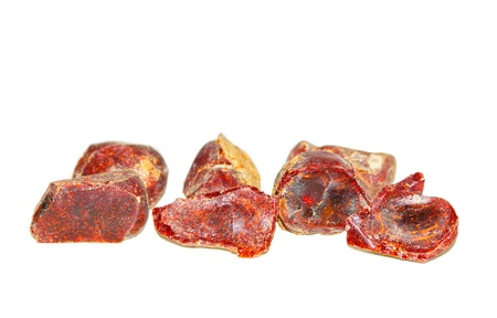 inclusions: red amber
