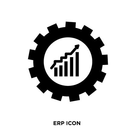 erp icon vector Фото со стока - 96574923