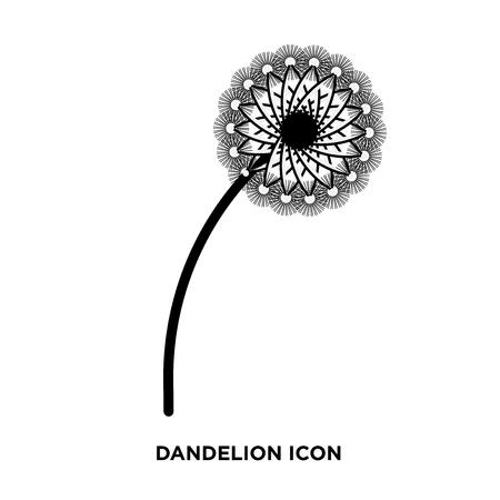 dandelion icon vector