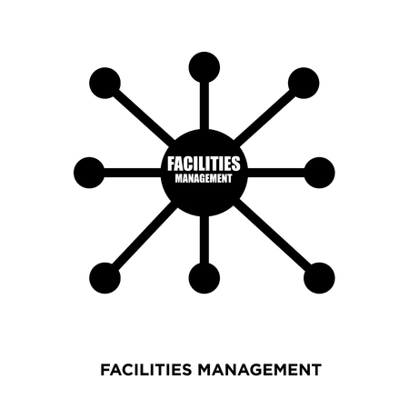 facilities management icon 矢量图像