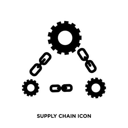 Supply chain icon Banque d'images - 96291801