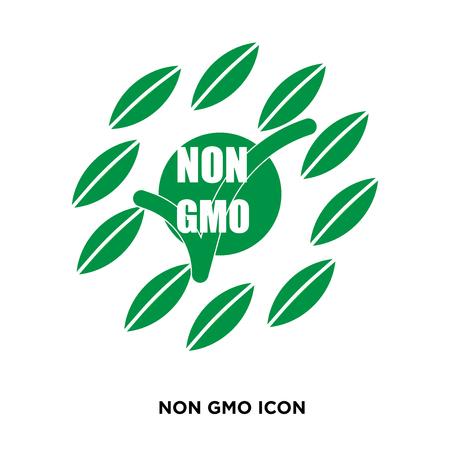 non gmo icon 向量圖像