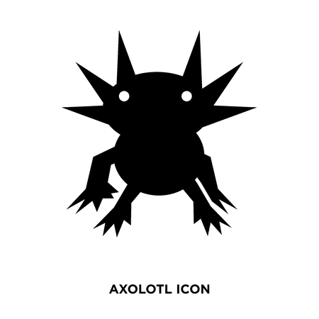 axolotl icon vector Illustration