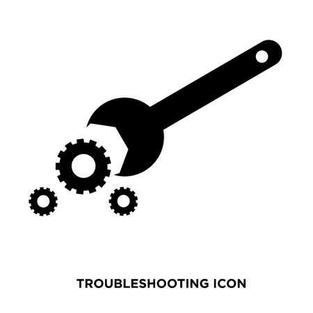 troubleshooting icon vector Illustration