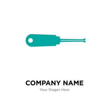 turn-screw company logo design template, Business corporate vector icon