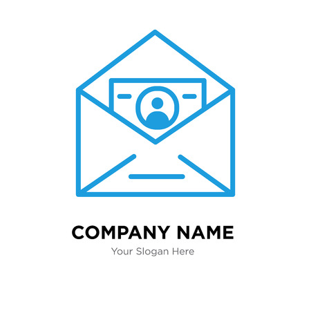 ID and mail company logo design template, Business corporate vector icon Banque d'images - 99684021