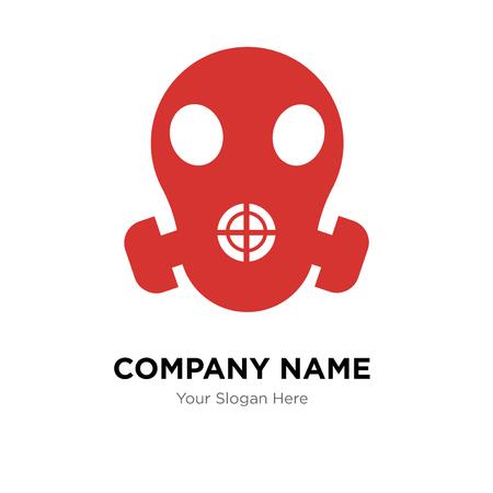 respirator company logo design template, Business corporate vector icon Illustration